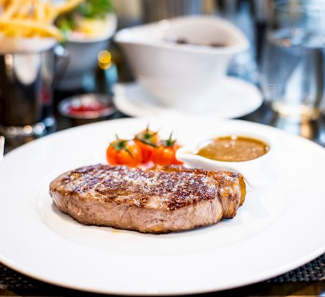 Best steaks in Canary Wharf